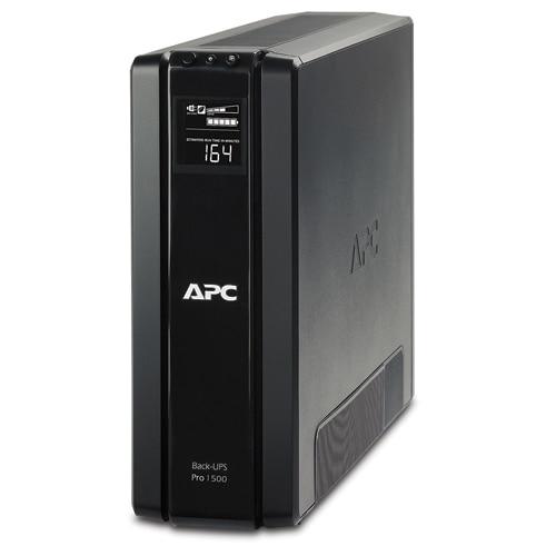 Fotografie UPS APC Pro BR1500G-GR, 1500VA, 865W, Schuko, 4xRJ45, 2xRJ11, USB, Line-interactive