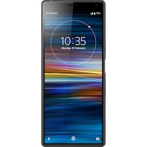 Telefon mobil Sony Xperia 10, Dual SIM, 64GB, 4G, Negru
