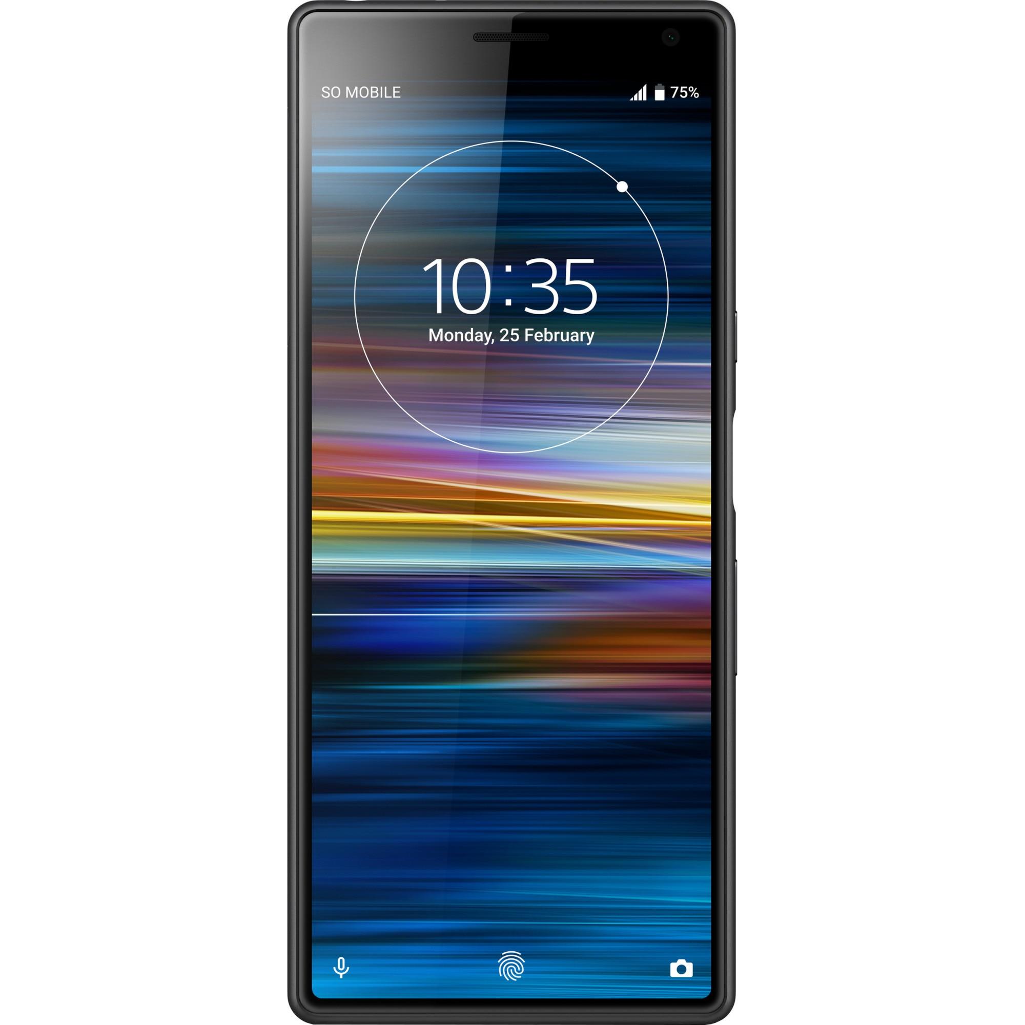 Fotografie Telefon mobil Sony Xperia 10, Dual SIM, 64GB, 4G, Negru