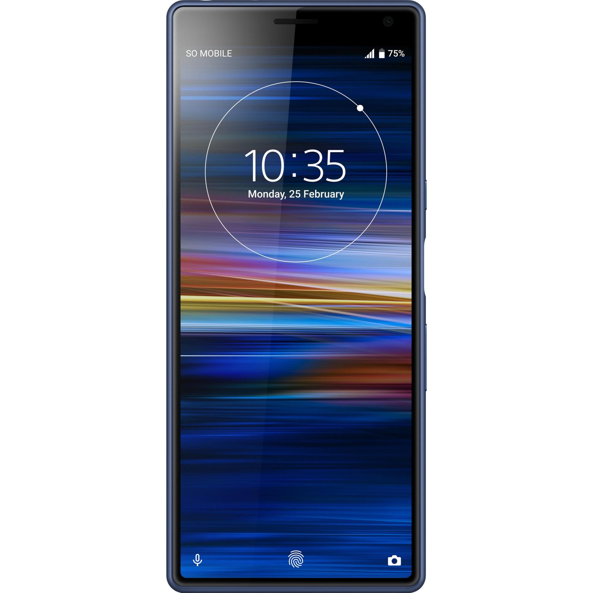 Fotografie Telefon mobil Sony Xperia 10, Dual SIM, 64GB, 4G, Albastru
