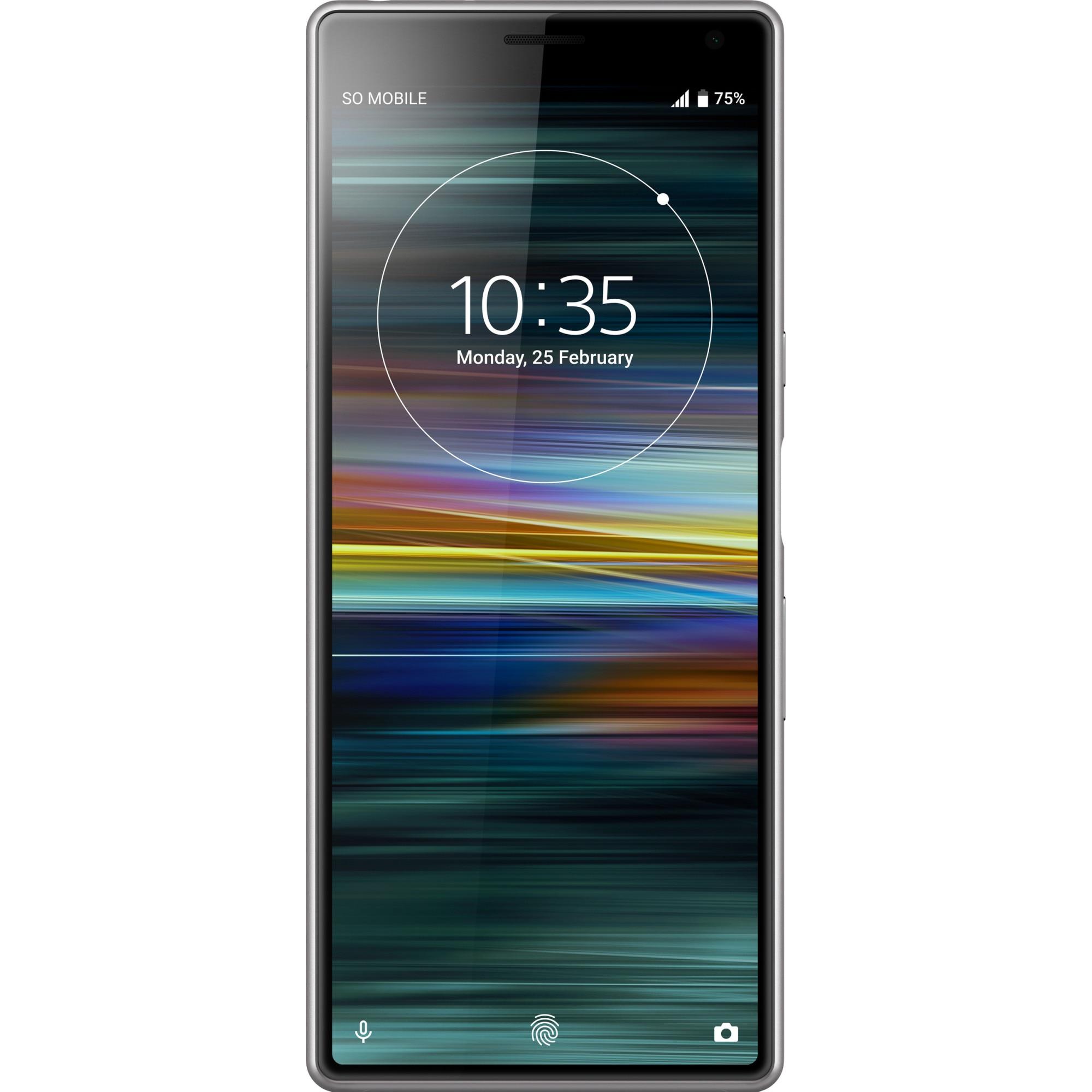 Fotografie Telefon mobil Sony Xperia 10, Dual SIM, 64GB, 4G, Argintiu