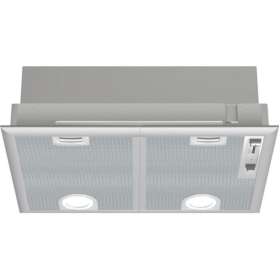 Fotografie Hota incorporabila Bosch DHL555BL, Putere de absorbtie 681 mc/h, Iluminare LED, Clasa C, 50 cm, Argintiu