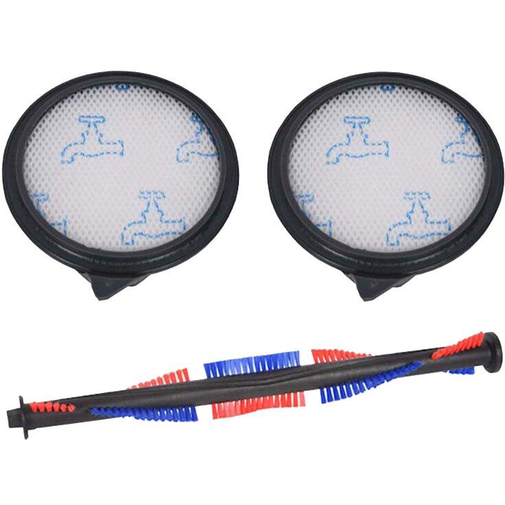 Fotografie Accesorii Rowenta ZR730200, Animal Kit 2 filtre + 1 perie pentru aspiratoarele RR80xx