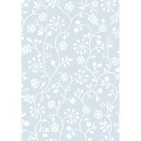 Самозалепващо фолио D-c-Fix, Бели цветя, 45см x 1.5м