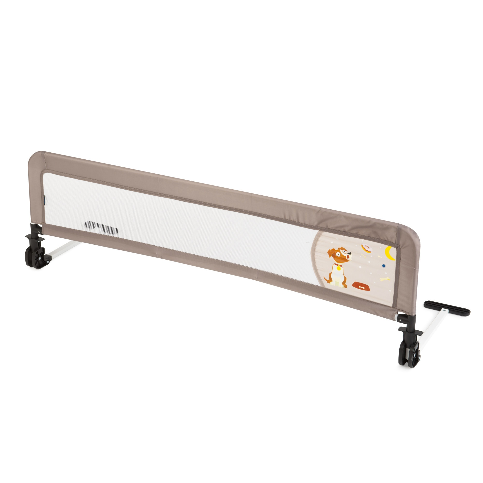 Fotografie Bariera de protectie pentru pat Juju Safe Guard, Sweet Dreams, 132 cm, Bej