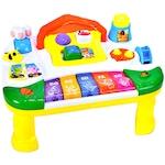 OEM KinderVIBE Zenélő asztal, Oktató, Interaktív, Sok hanggal és tevékenységgel, Többszínű