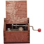 Музикална латерна Musicboxbg New York, New York в дървена кутия с ноти. Червена