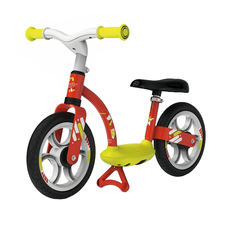 Fotografie Bicicleta fara pedale Smoby, Balance comfort, rosie