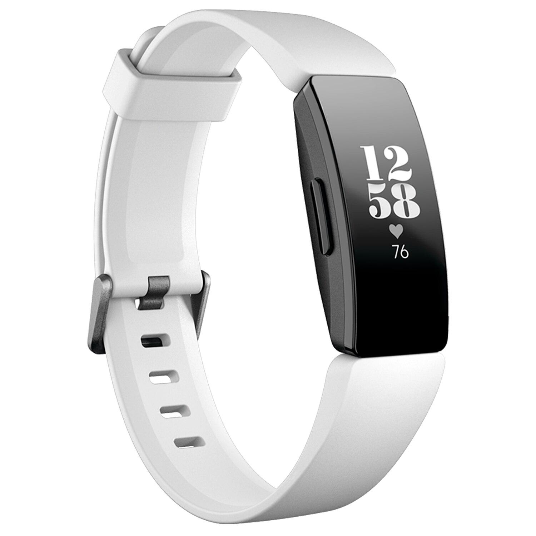 Fotografie Bratara fitness Fitbit Inspire HR, Negru/Alb