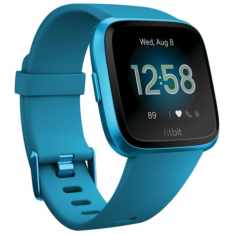 Fotografie Ceas smartwatch Fitbit Versa Lite, Marina Blue/Marina Blue Aluminum