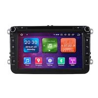 Мултимедия с навигация ZT, за Skoda, Seat, Volkswagen, Vw, Passat, Golf, Rns 810, Android 10.1, 8+4+64
