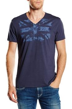 Мъжка тениска Pepe Jeans Enzo, Тъмносин, Размер M