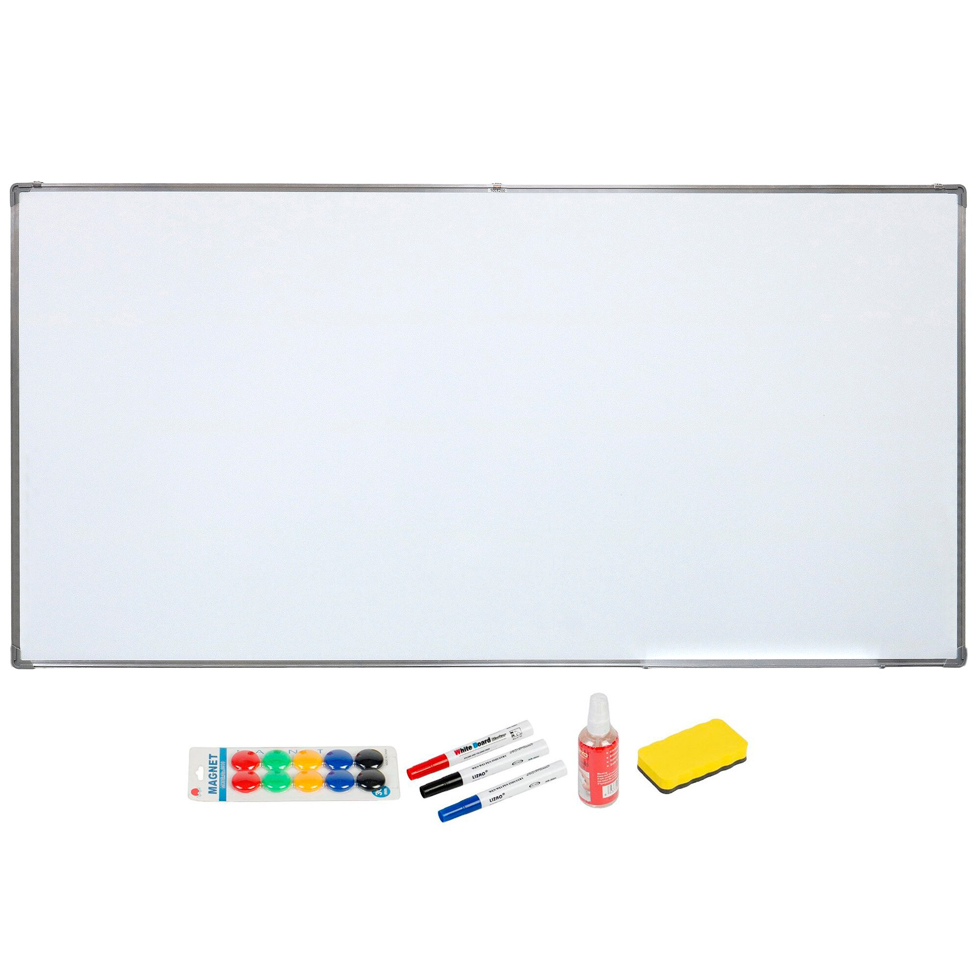 Fotografie Tabla magnetica A+, 1000 x 2000 mm + accesorii -1 set markere, burete, spray, magneti