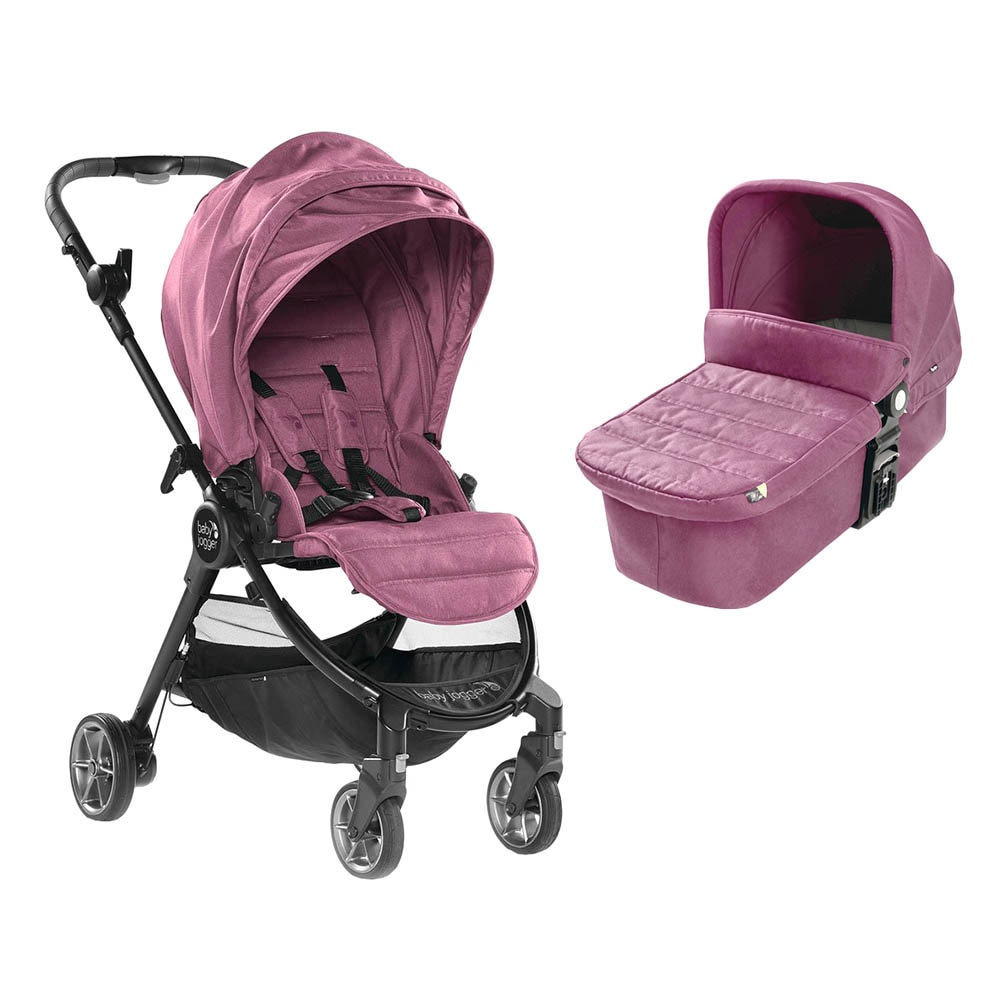 Fotografie Carucior 2 in 1 Baby Jogger City Tour Lux, Rosewood, Roz