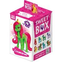 Детка играчка SweetBox Космически Понита + Желирани бонбони 10g
