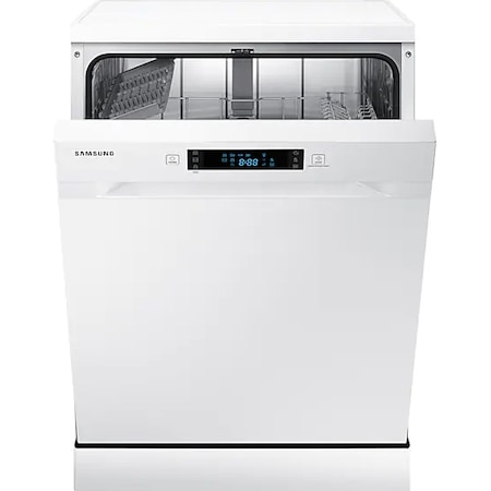 Masina de spalat vase Samsung DW60M5050FW/EC, 13 seturi, Clasa A+, 5 programe, Afisaj LED, 60 cm, Alb