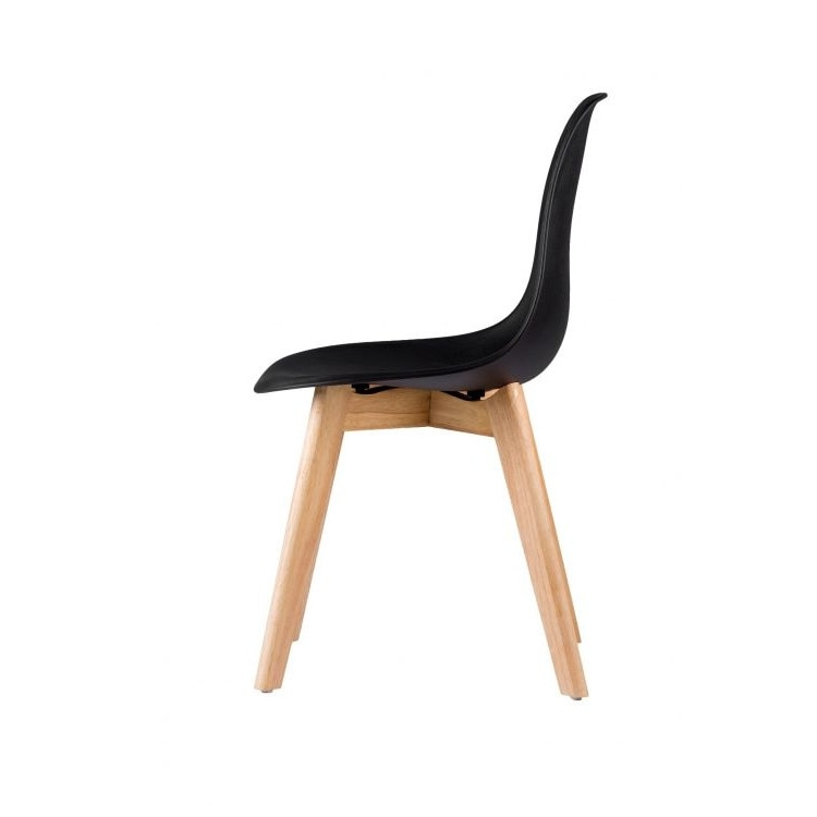 Modern velencei konyha szék, modell PC 001, fekete szín
