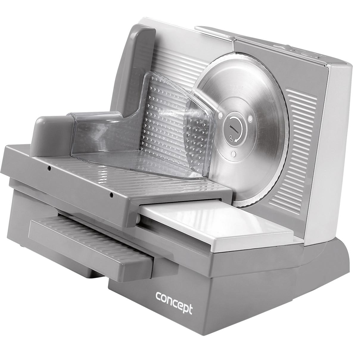 Fotografie Feliator Concept KP3531, 130 W, cutit Solingen 17 cm, 0-23 mm, accesorii incluse, Argintiu