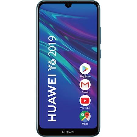 Telefon mobil Huawei Y6 2019, Dual SIM, 32GB, 4G, Sapphire Blue