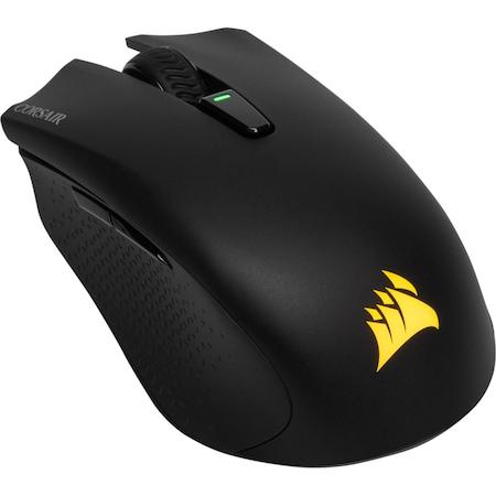 Безжична мишка Gaming Corsair Harpoon RGB, Оптичен сензор 10000DPI, Черна