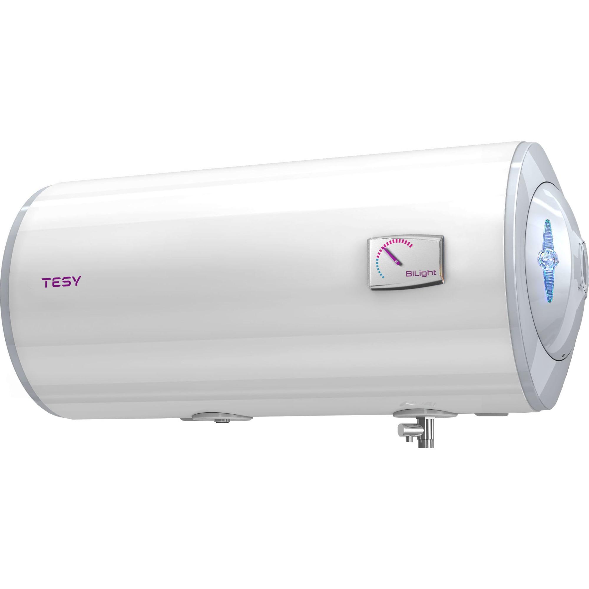 Fotografie Boiler electric orizontal TESY BiLight SLIM, 50 l, 2000 W, termostat reglabil, GCH 503520 B12 TSR