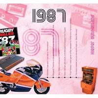 CD картичка с хитове от 1987 година