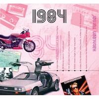 CD картичка с хитове от 1984 година