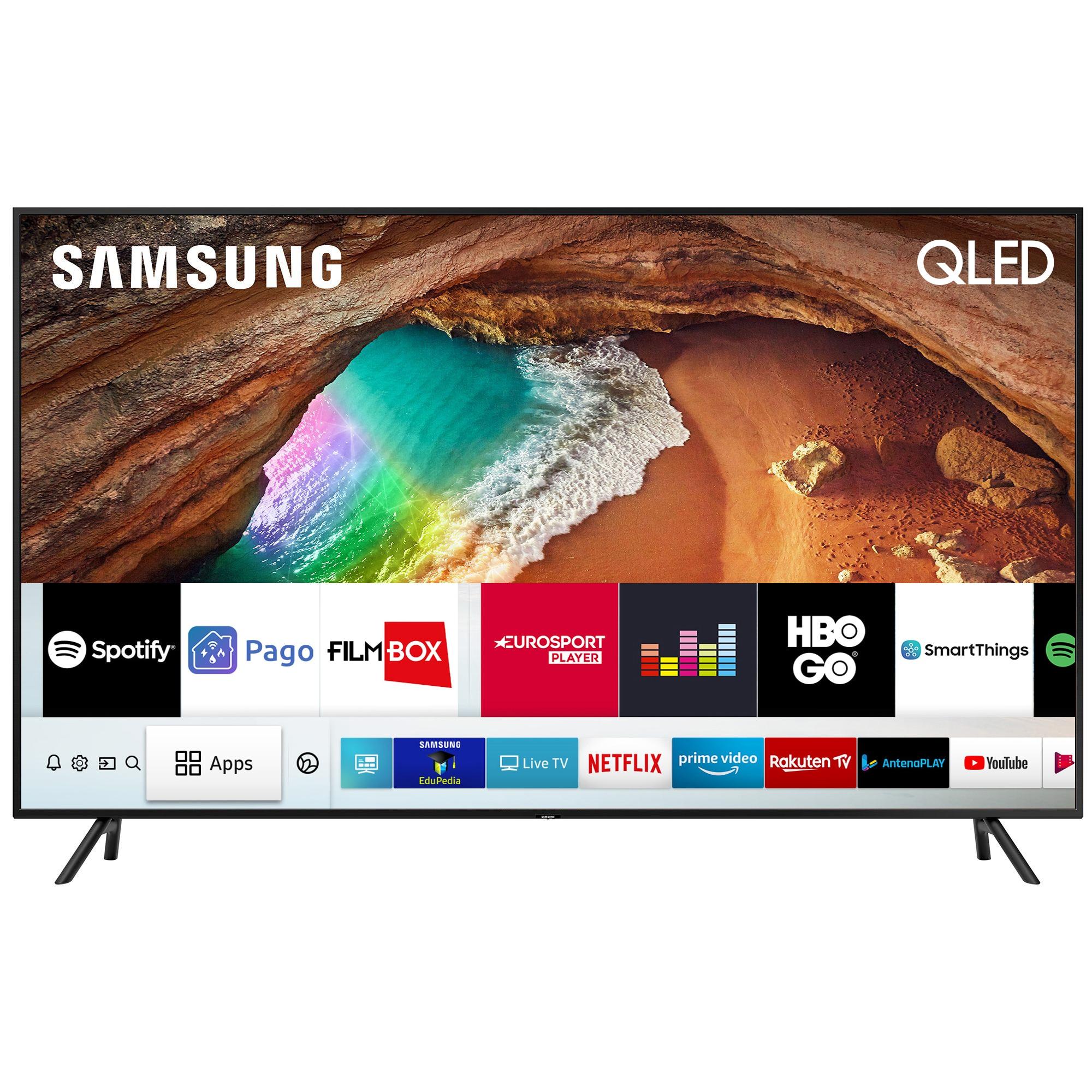 Fotografie Televizor QLED Smart Samsung, 163 cm, 65Q60RA, 4K Ultra HD, Clasa A+