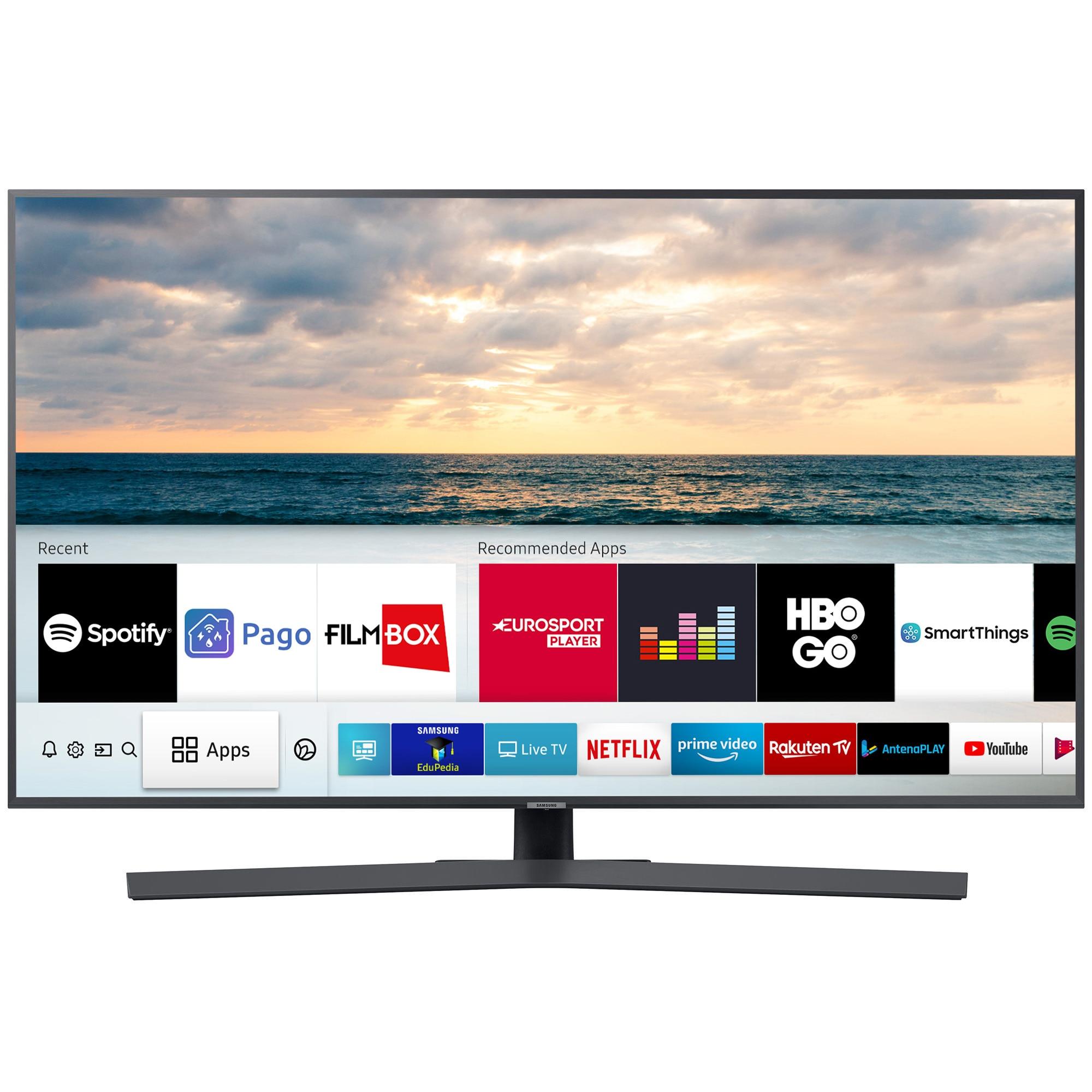 Fotografie Televizor LED Smart Samsung, 108 cm, 43RU7402, 4K Ultra HD