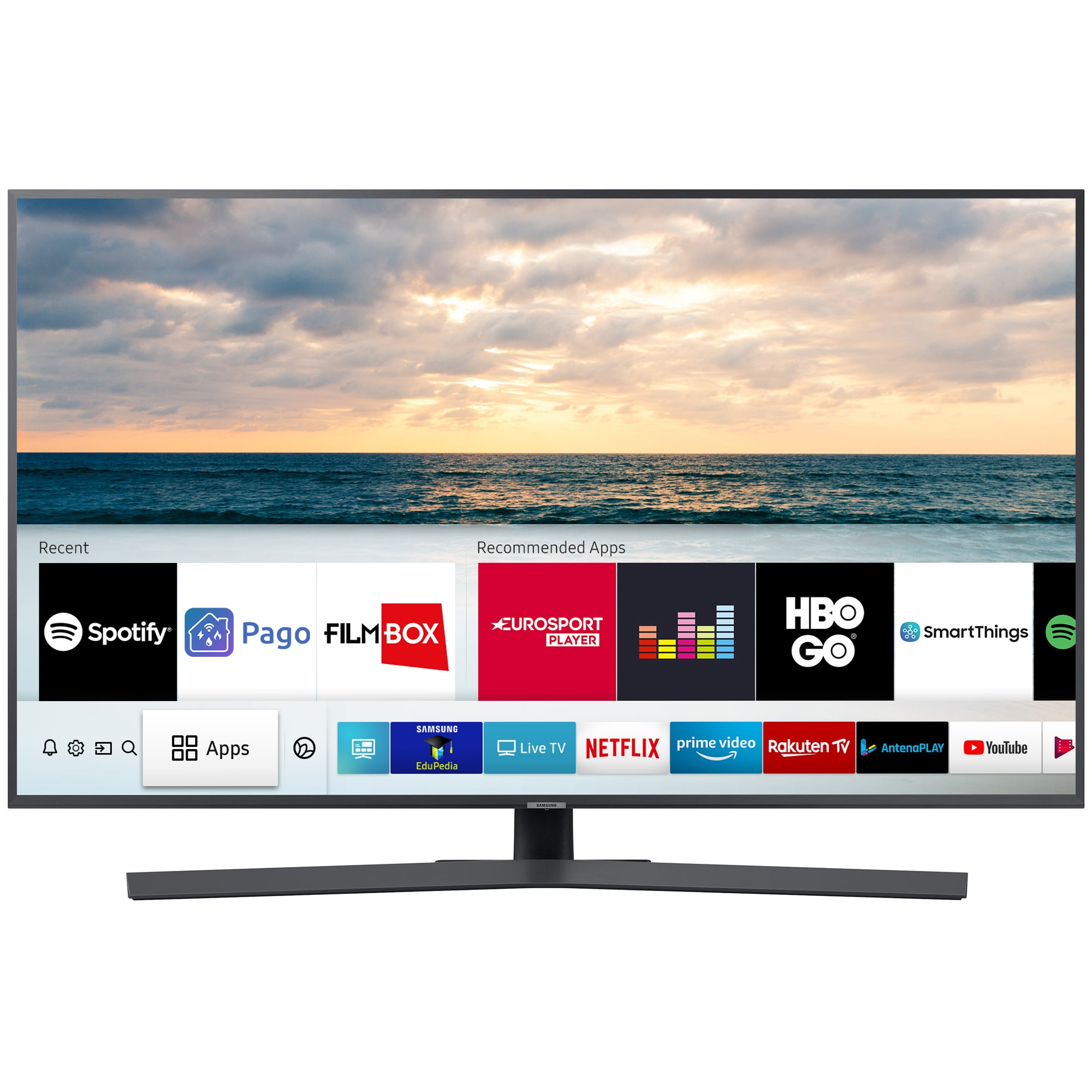 Fotografie Televizor LED Smart Samsung, 138 cm, 55RU7402, 4K Ultra HD