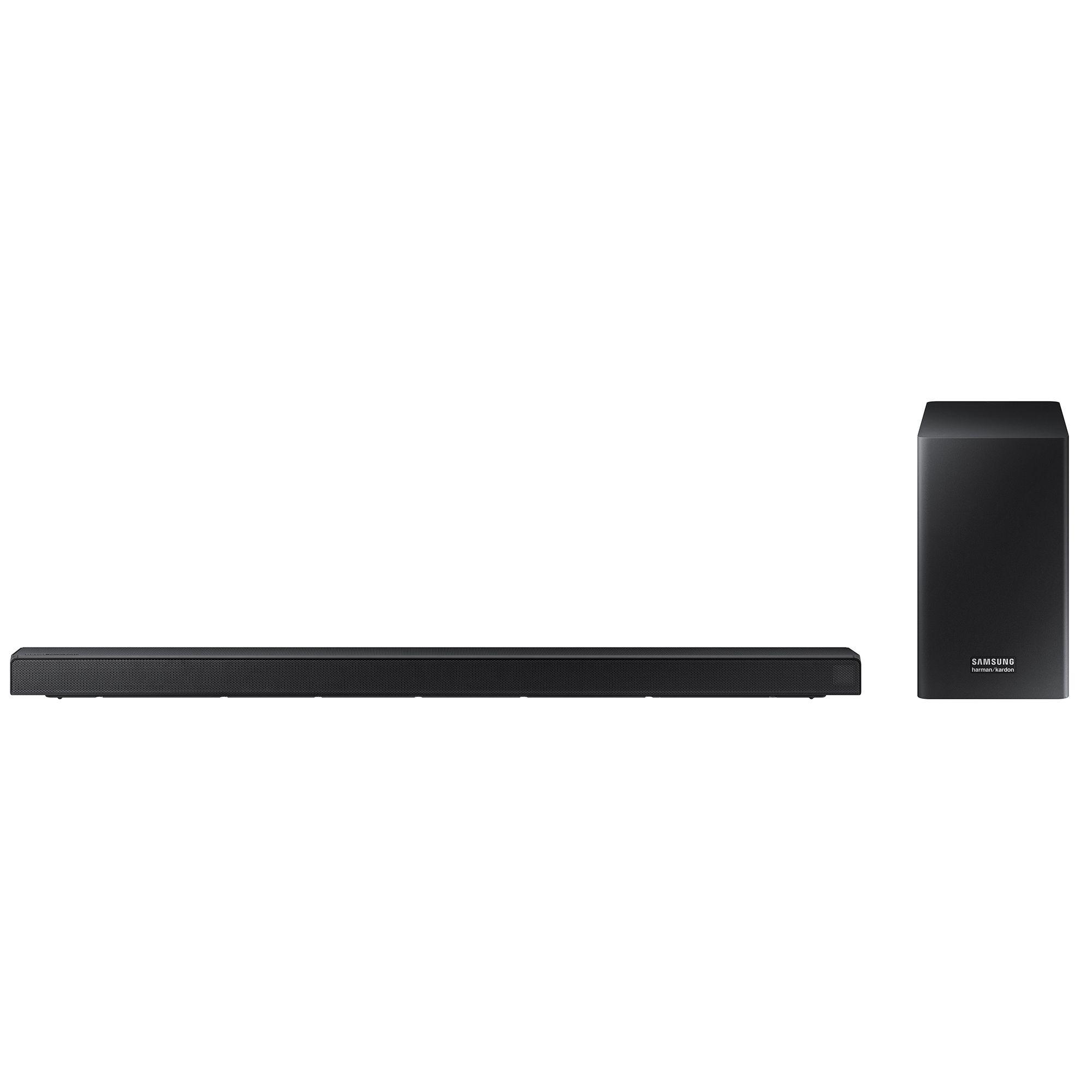 Fotografie Soundbar Samsung Harman Kardon HW-Q60R, 5.1, 360W, Wireless, Dolby, DTS, Negru
