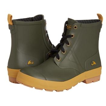Мъжки обувки - ботуши Viking Oslo 181325807 5-27-19, гумени с връзки, Зелен, размер 47