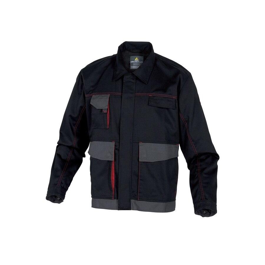 D Mach Munkavédelmi Kabát, fekete piros, XL eMAG.hu