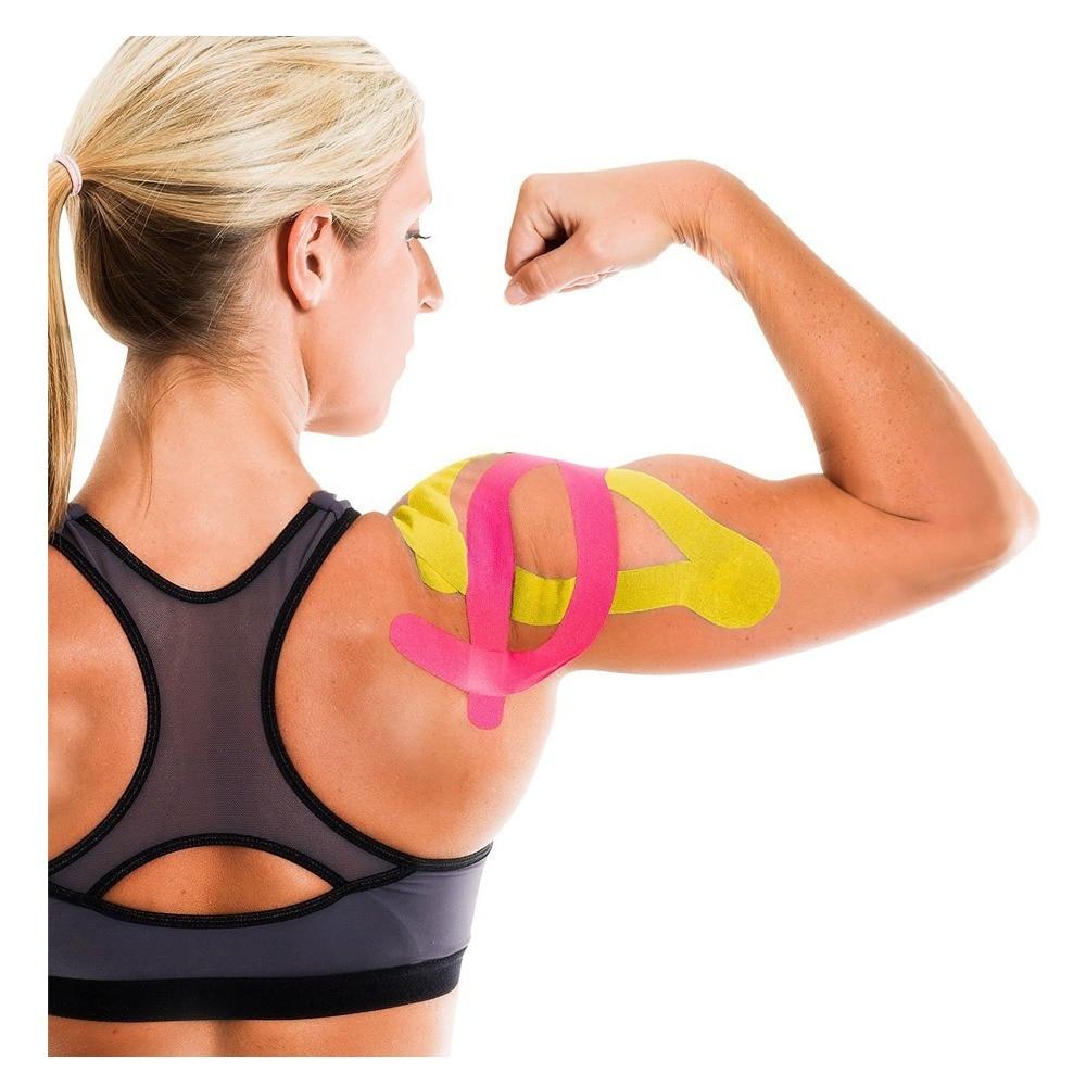 kinesiotape pentru dureri la nivelul articulațiilor și mușchilor