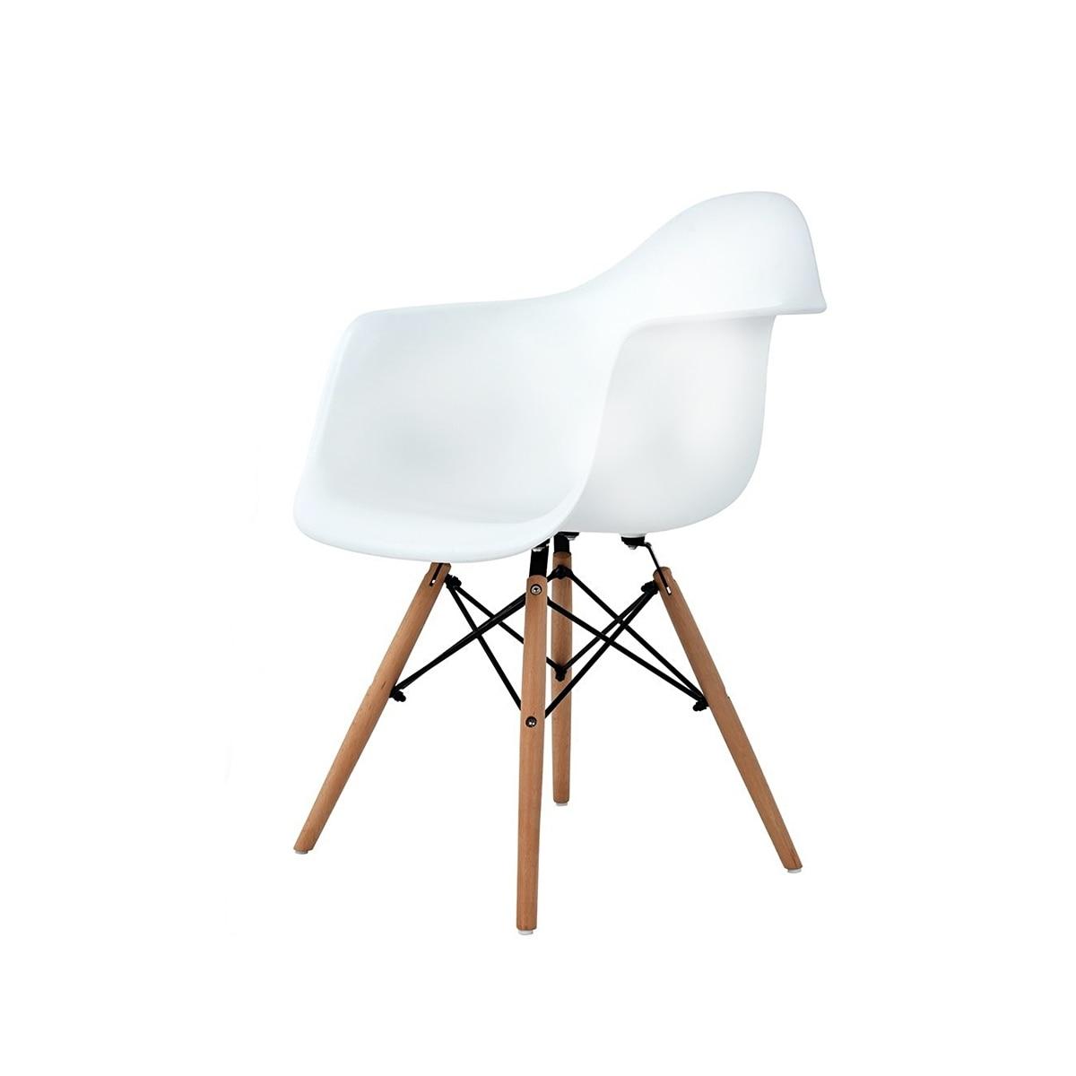 Palmonix Skandináv modern szék, fehér szín