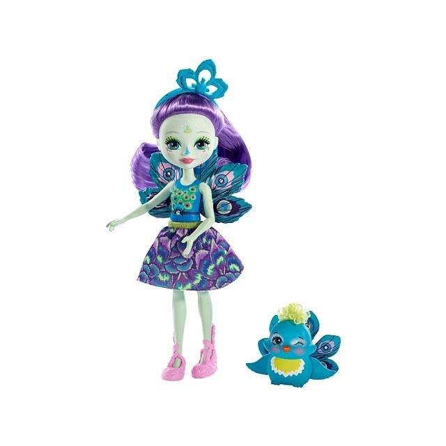 Enchantimals: Patter Peacock és Flap játékfigurák - Mattel kGYz42