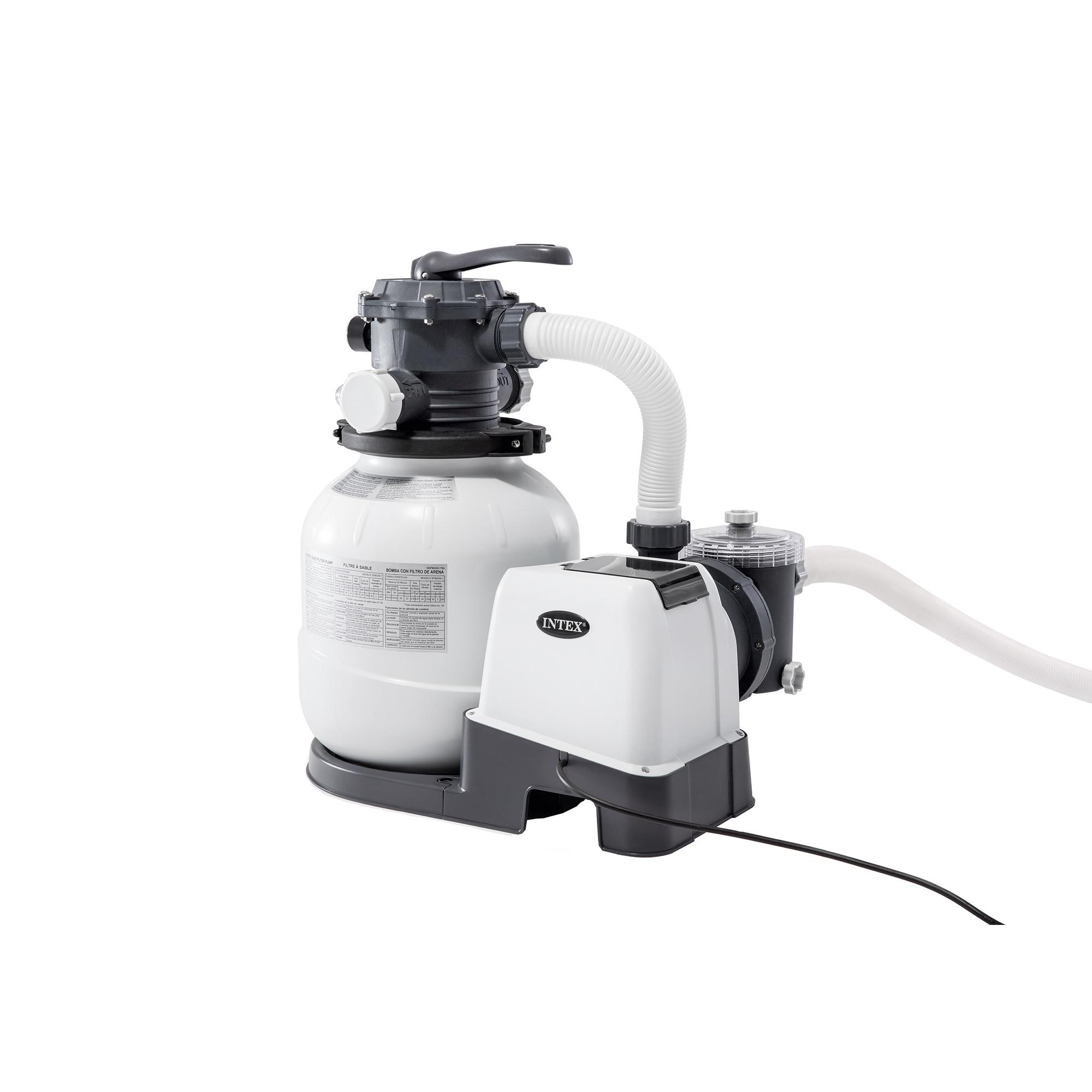Fotografie Sistem de filtrare cu nisip Intex 26646, 220-240 V, 7.949 l/h debit apa, pentru piscine pana la 36 m3