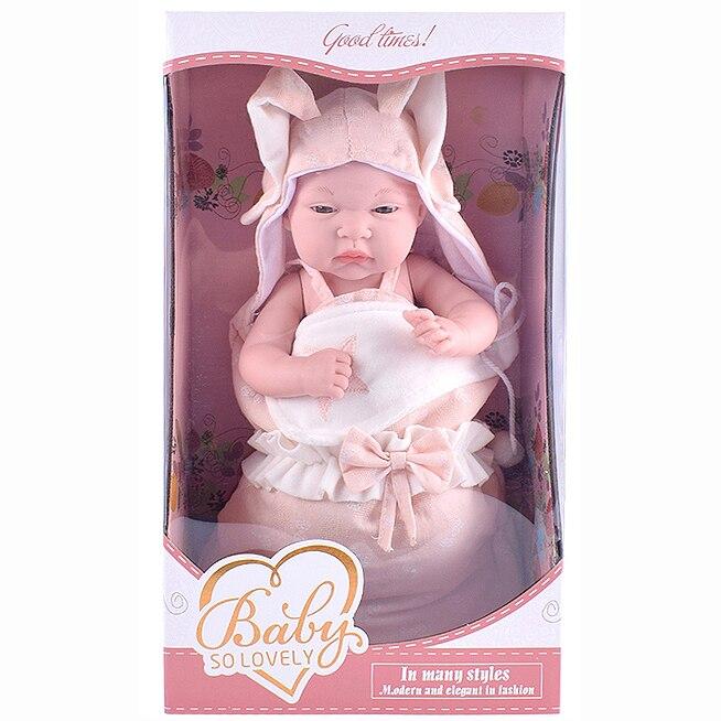 Fotografie Papusa Mappy - Baby so lovely, cu sac de dormit, roz