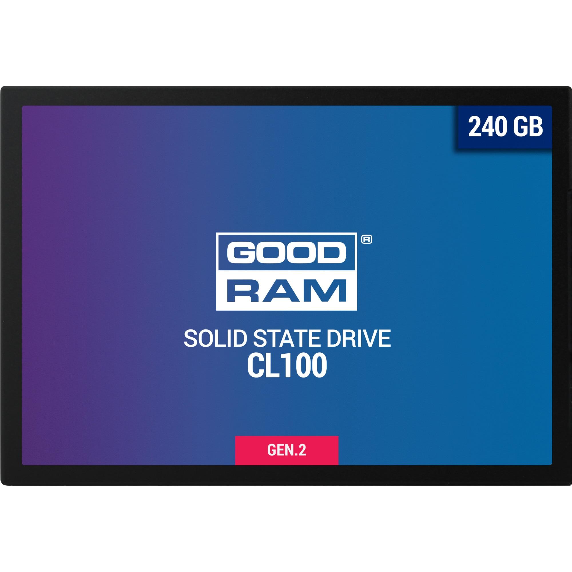 """Fotografie Solid-state drive (SSD) Goodram CL100, 240GB, 2.5"""", SATA III"""