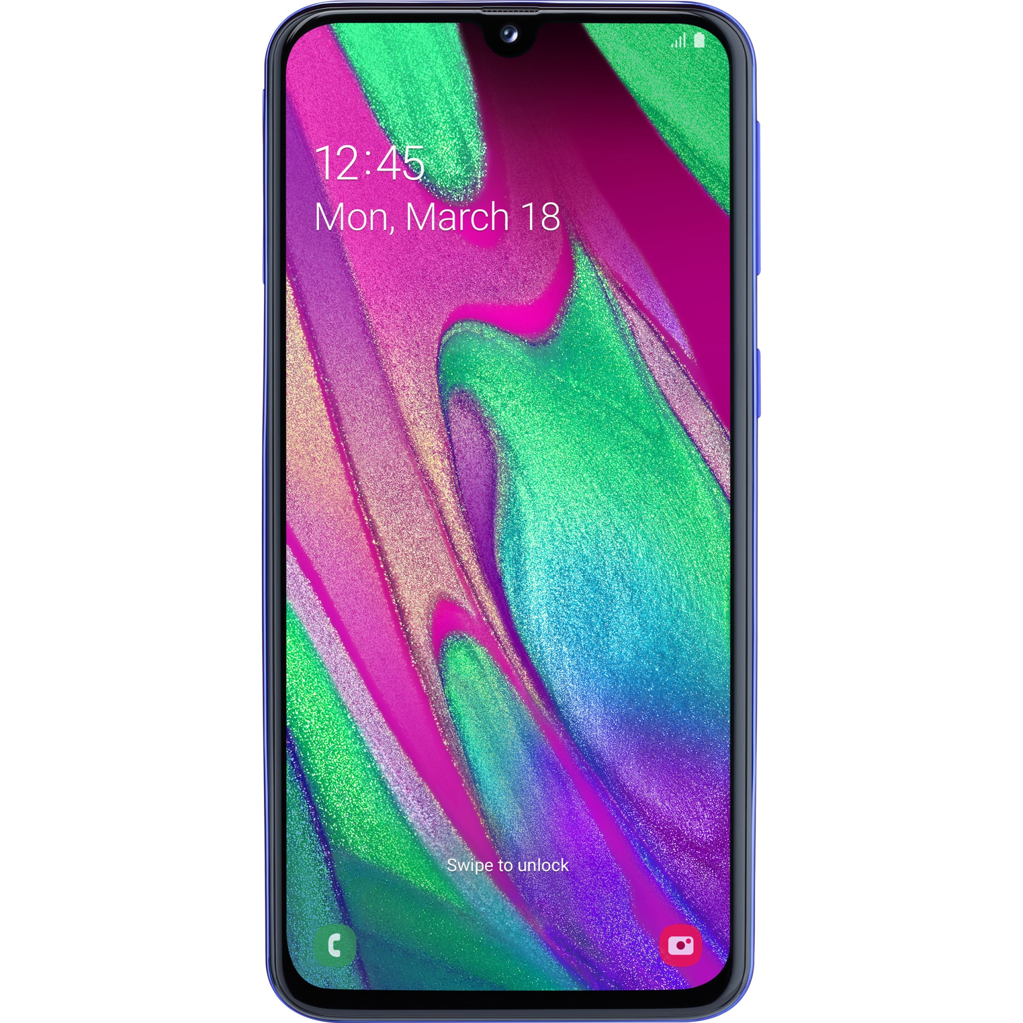Fotografie Telefon mobil Samsung Galaxy A40, Dual SIM, 64GB, 4G, Blue