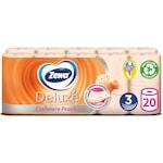 Zewa Deluxe 3 rétegű toalettpapír, Cashmere Peach, 20 tekercs