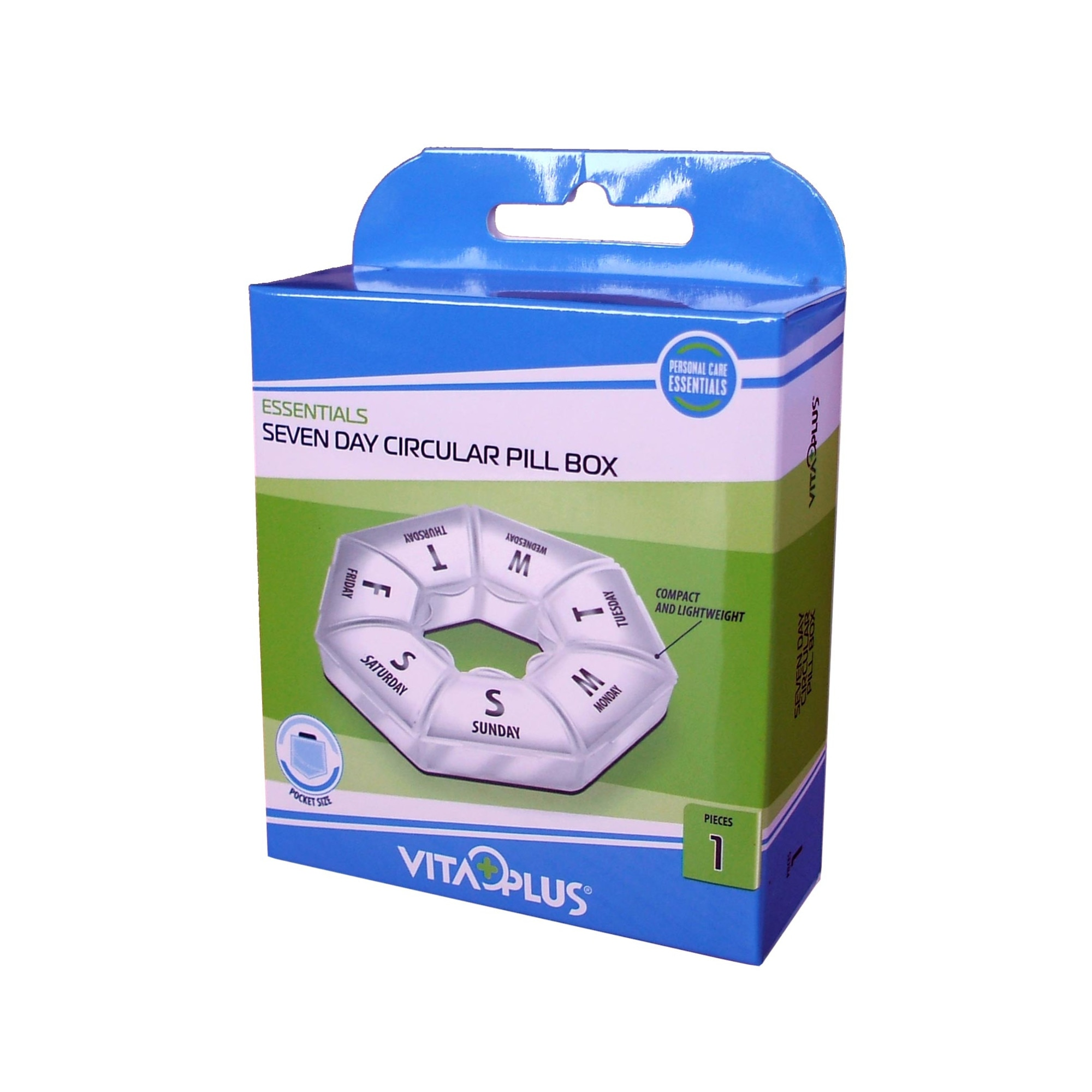 Organizator Saptamanal Pentru Medicamente Circular Si Compact Emag Ro