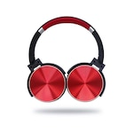 DREAMER Metal 550BT Extra Bass Bluetooth fejhallgató, piros