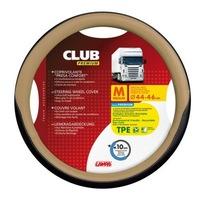 Lampa Kormányvédő Club, 44-46cm, fekete-bézs színű