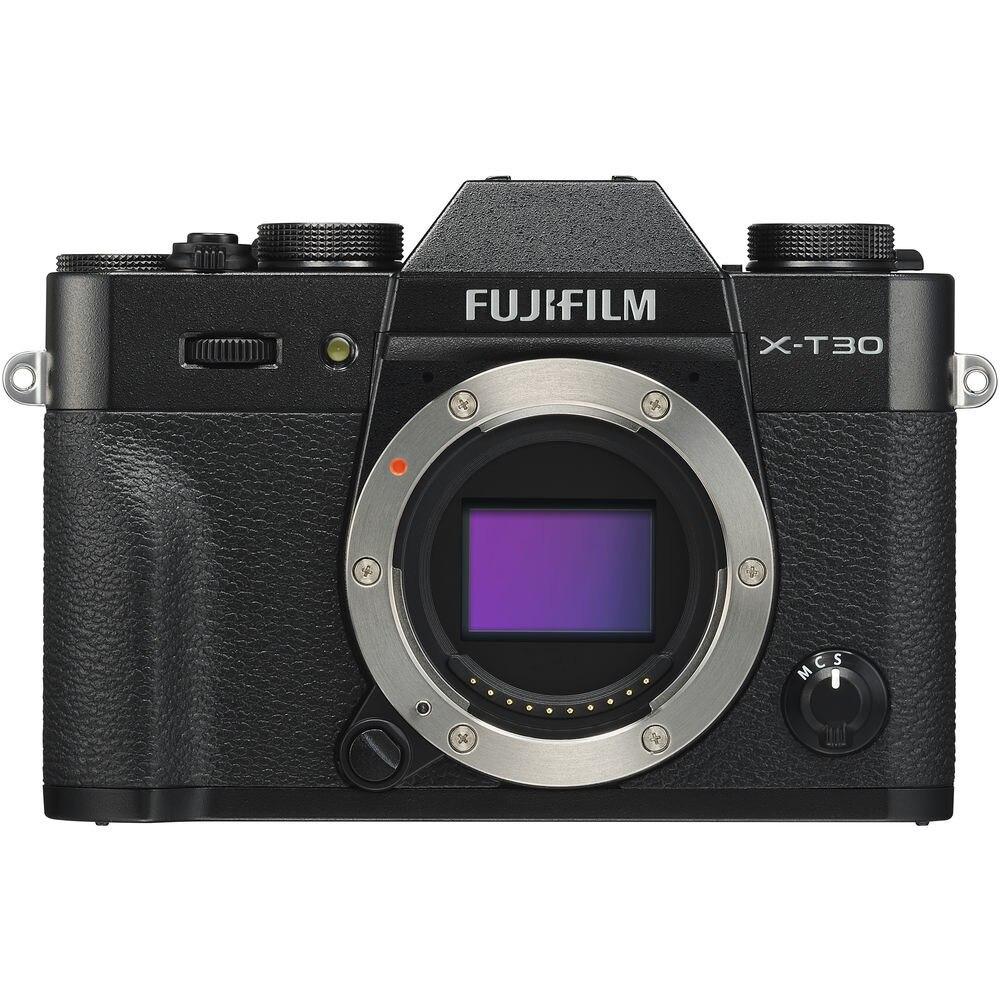 Fotografie Aparat foto Mirrorless Fujifilm X-T30, 26.1 MP, Wi-Fi, Body, Negru