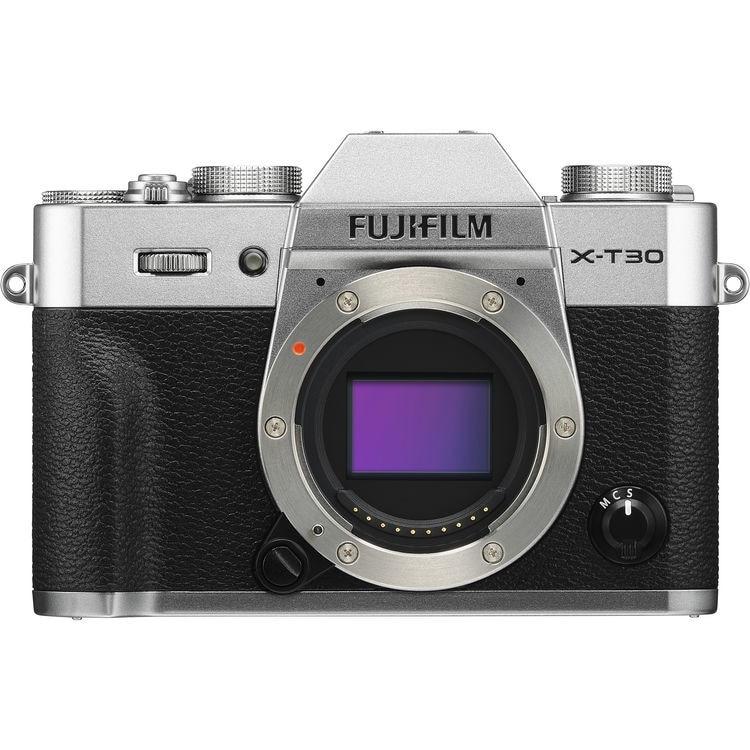 Fotografie Aparat foto Mirrorless Fujifilm X-T30, 26.1 MP, Wi-Fi, Body, Argintiu