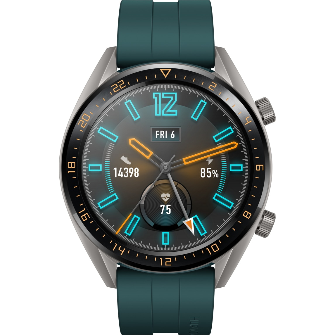Fotografie Ceas smartwatch Huawei Watch GT, Dark Green