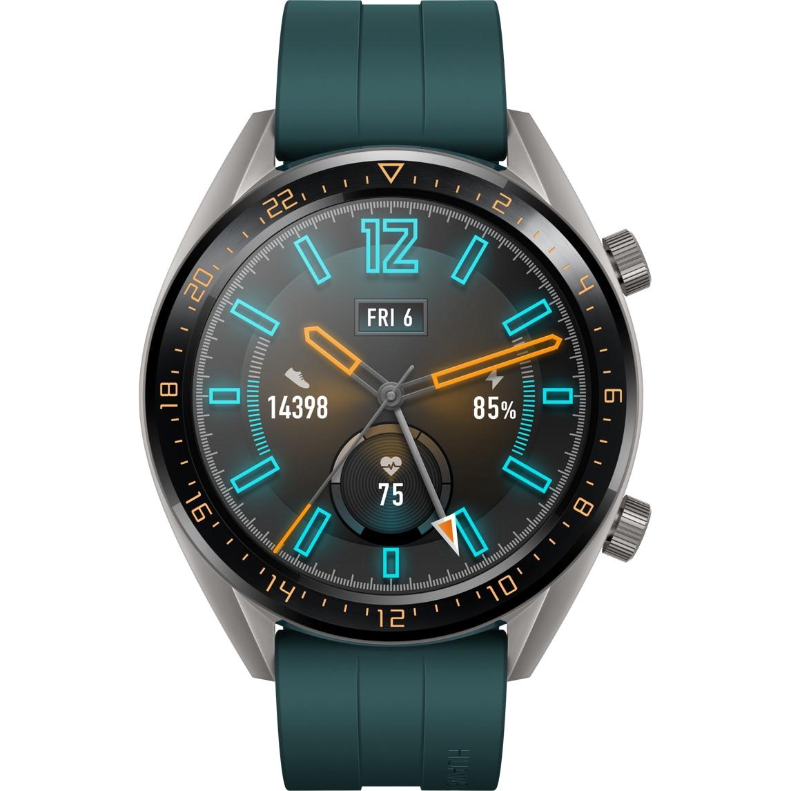 Fotografie Ceas smartwatch Huawei Watch GT, Dark Green