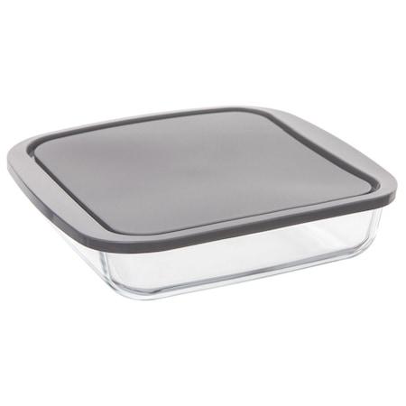 Naczynie żaroodporne z pokrywką, uniwersalny pojemnik do przechowywania lub pieczenia