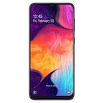 Samsung Galaxy A50 Mobiltelefon, Kártyafüggetlen, Dual SIM, 128GB, LTE, Fekete
